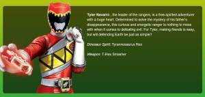 Dino Charge Red